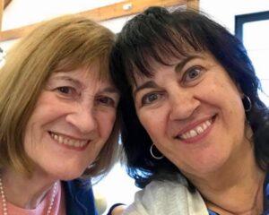 Jane Rastallis and Karen Doucette